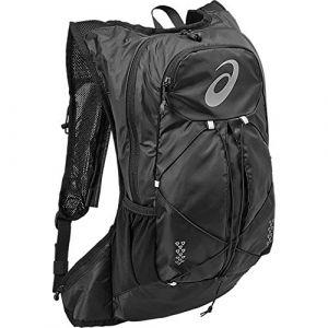 Asics 131847-0946 Polyester Noir sac à dos - Sacs à dos (Polyester, Noir, Monotone, Unisexe, 240 mm, 100 mm)