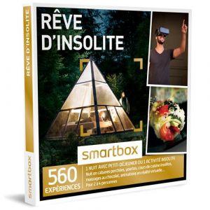 Smartbox Coffret cadeau Rêve d'insolite