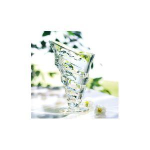 La Rochère 6 coupes à glace Circée en verre pressé