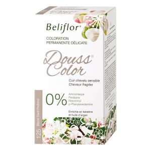 Beliflor Douss Color 125 Blond Doré Profond - Coloration permanente délicate
