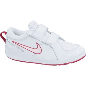 Nike Pico 4 Psv, Sneakers Basses fille, Blanc (White/Prism Pink-Spark), 33.5 EU (UK child 1 Enfant UK)