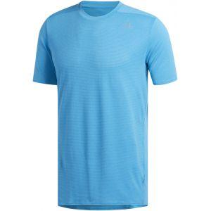 Adidas Supernova Tee Men, shock cyan XL T-Shirts Running
