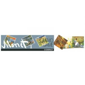 Piatnik Mémo Oeuvres d'art Monet : Silver
