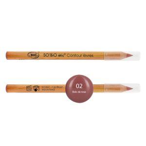 So'Bio Étic Crayon Contour des Lèvres • 02 Bois de Rose
