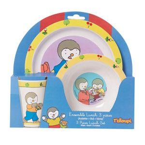 Image de Fun House Set vaisselle 3 pièces T'Choupi