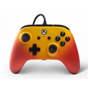 PowerA Manette Filaire Xbox One Solaire Orange