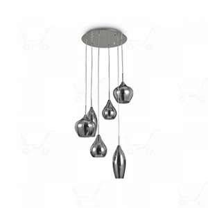 Ideal lux Suspension SOFT Fumé 6x40W - 111841