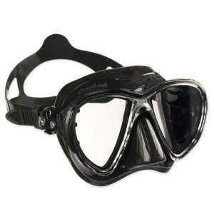Cressi Masque de plongée Sous Marine pour Adulte - Big Eyes Evolution - Noir (Noir) - Taille Unique