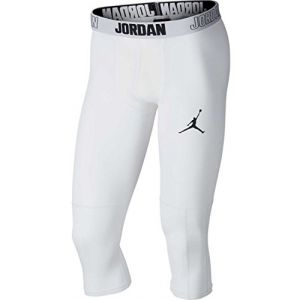 Nike Collant de training 3/4 Jordan Dri-FIT 23 Alpha pour Homme - Blanc - Taille XL - Male