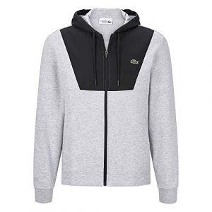 Lacoste Sport Hooded Fleece Zip Sweatjacket. Veste
