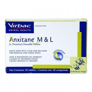 Virbac Anxitane M&L pour chien 30 capsules