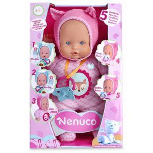 Nenuco Poupon Soft 30 cm rose - 5 fonctions