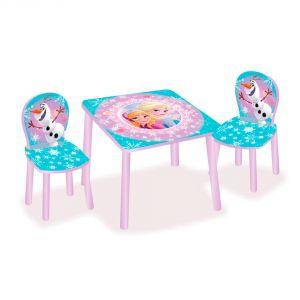 Worlds Apart Ensemble table et 2 chaises La Reine des Neiges