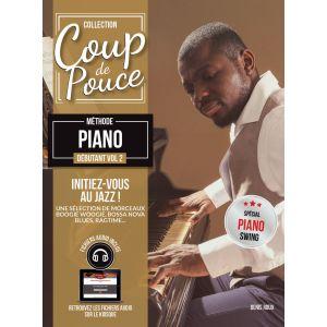 Coup de pouce Débutant - Claviers Jazz - Piano - BOOK+CD