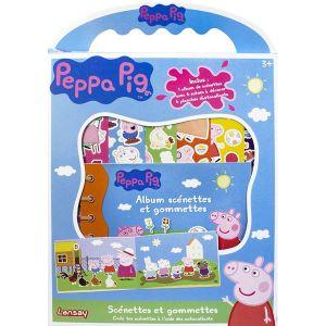 Lansay Scénettes et gommettes Peppa Pig