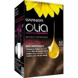 Garnier Olia 6.0 Châtain Très Clair - Coloration permanente à l'huile sans ammoniaque