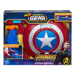 Hasbro Nerf Assembler Gear Avengers Infinity War bouclier Captain America