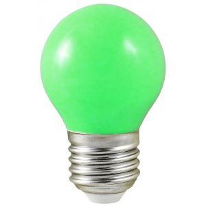 Vision-El Ampoule Led 1W (9W) E27 Boule Couleur VERT