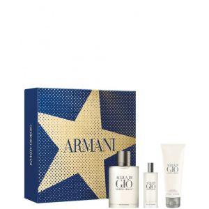 Giorgio Armani Acqua di Giò - Coffret Eau de Toilette + Gel Douche + Miniature