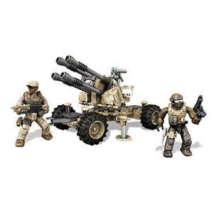 Mega Bloks DKX53 - Call of Duty : véhicule anti-aérien avec 2 figurines