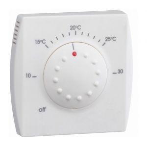 Hager Thermostat semi-encastré avec avec voyant 25111
