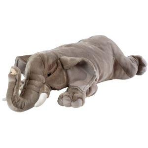 Wild Republic Peluche Floppies : Éléphant 76 cm