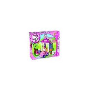 Androni Giocattoli Unico Plus - Station de lavage Hello Kitty 42 pièces