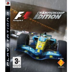 Formula One : Championship Edition [PS3]