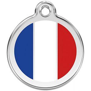 RedDingo Médaille 30mm DRAPEAU France