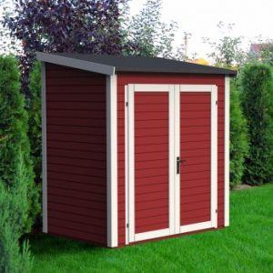 Skur 1 - Abri de jardin en bois peint 2,08 m2