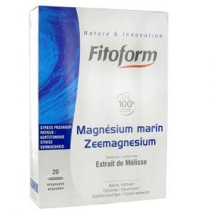 Fitoform Magnésium Marin sous forme d'ampoules (20 ampoules)