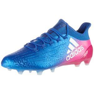 Adidas X 16.1 FG, Chaussures de Football Homme - Bleu (Blu Azul/ftwbla/Rosimp), 44 2/3 EU