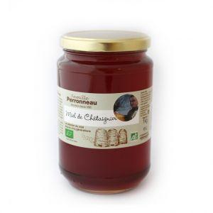 Miel bio de châtaignier en pot de 1 kg
