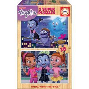Educa Puzzle en Bois - Disney - Vampirina