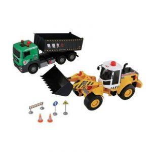 John World Coffret véhicules de chantier