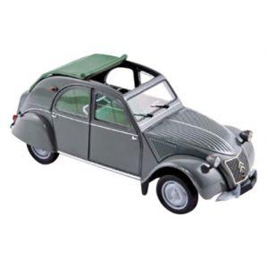 Norev 181499 Citroën 2 CV AZL Malle Bombée - 1957 - Echelle 1/18 - Gris