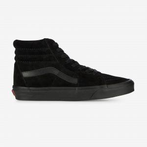 Vans U Sk8 Hi Baskets Mode Mixte Adulte Noir (Black/Black) 45 EU (Taille Fabricant 11.5 US)