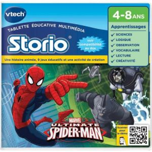Vtech Jeu Storio Spiderman