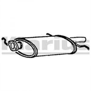Klarius Silencieux arrière 210140