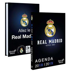 Quo Vadis Agenda journalier 2018/2019 Real Madrid - 12x17cm