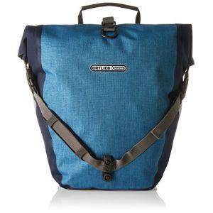 Ortlieb Back-Roller Plus QL2 Sacoche pour Porte Bagages Vélo pour adulte1 Paire Taille Unique Bleu - Denim-Stahlblau