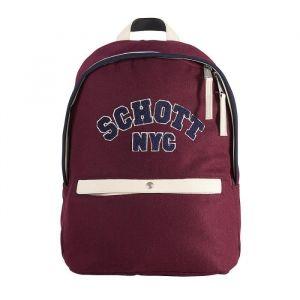 Schott Sac à Dos - 1 Compartiment - Primaire / Collège - 31 cm - Burgundy - Enfant fille