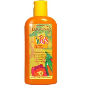 Logona Kids Shampoo & gel douche - 200 ml