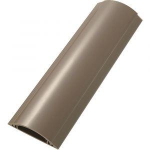 Image de Tru Components Protège-câbles PVC marron TC-RDAR120ABNWM203 1592927 Nombre de canaux: 1 Longueur 1000 mm 1 pc(s)
