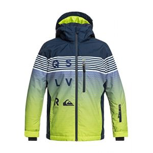 Quiksilver Veste de ski mission engineered youth jacket 10 ans