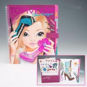 Depesche Top Model - Album de coloriage et création Shoe Designer