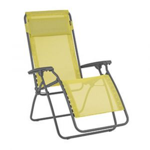 Lafuma Fauteuil Relax R Clip jaune