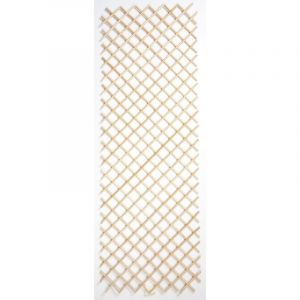Nortene Treillis Wick Trellis en osier naturel, 50 x 150 cm