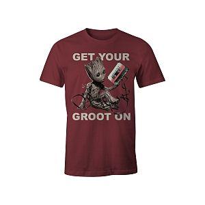 Cotton Division T-Shirt Gardiens De La Galaxie Bébé Groot (Taille S)