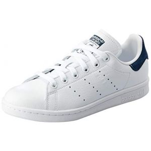Adidas Stan Smith W, Chaussures de Fitness Femme, Blanc Ftwbla/Maruni 0, 37 1/3 EU